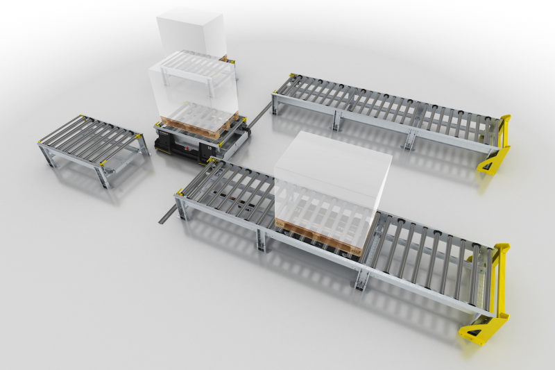 New Smart Pallet Mover from Interroll provides performance boost for manufacturing logistics