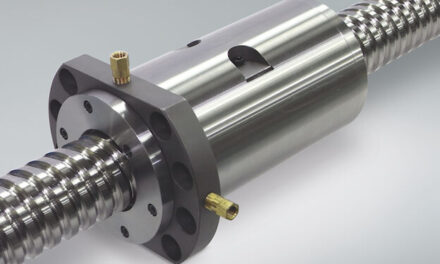 Collaboration between CHIRON Group and NSK : Machining centers feature ball screws with nut cooling to increase surface quality of milled parts