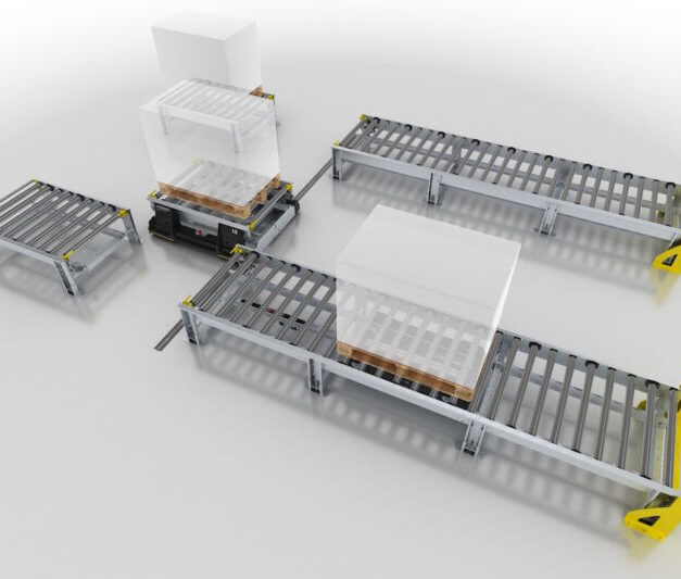 Smart Pallet Mover from Interroll provides performance boost for manufacturing logistics