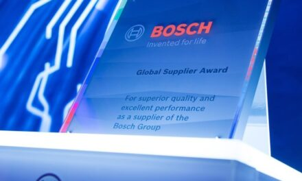 Nexperia receives Bosch Global Supplier Award for the second time in a row