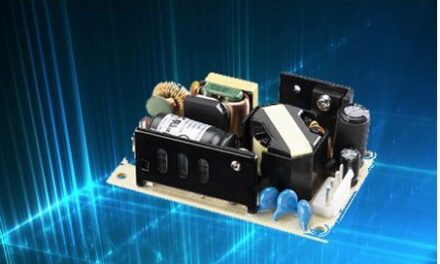 Open frame power supply series offers high efficiency in a small package