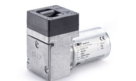 KNF showcasesanewpowerful pump for a wide range of applications