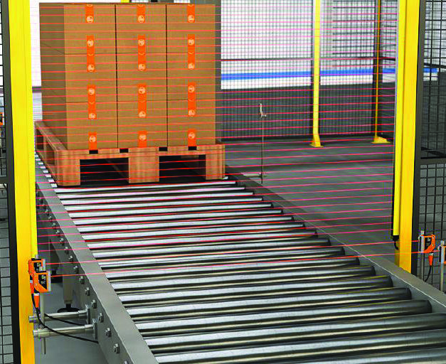 Monitor objects easily with ifm's measuring light grids