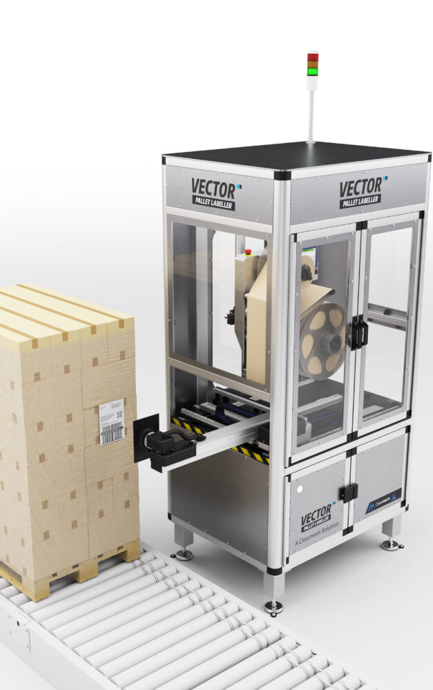 ICE Vector establishes Clearmark's foray into pallet labelling