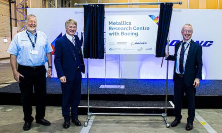 NMIS and Boeing officially open new R&D facility in Renfrewshire
