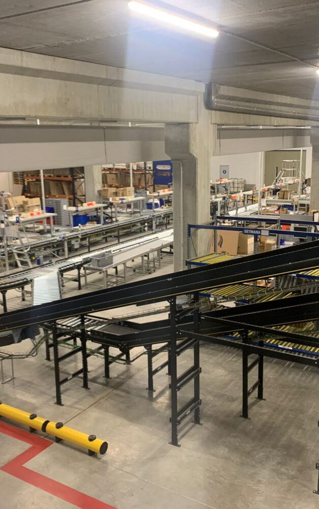 Toyota Material Handling and Interroll automate Imnasa's distribution centre in Spain