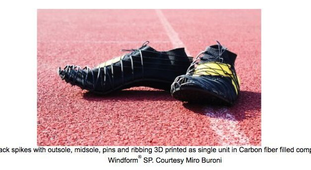 'Revolutionary spike shoes' made with Carbon fibre filled composite and 3D printing